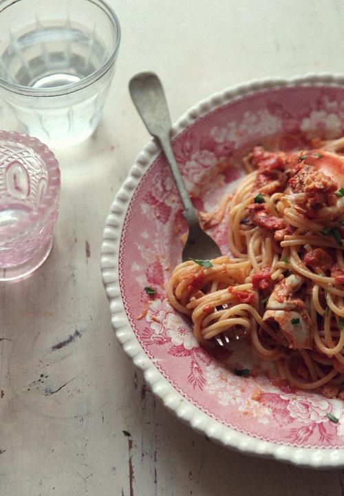 Tomato Cream Crab Pasta_1