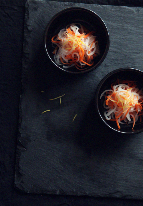 Pickled Radish and Carrot Salad_1