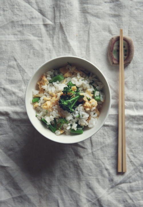 Tenderstem Broccoli and Egg Rice_01